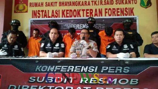 Empat Orang Ditangkap, Polisi Masih Buru Dua Pelaku Curanmor Bersenjata