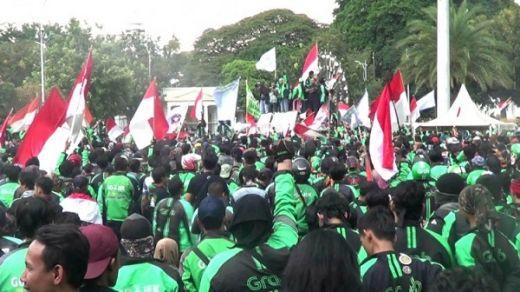 Jokowi Sebut Driver Online Pekerjaan Masa Depan, KATO: Kami Korban Nyata Revolusi Industri 4.0