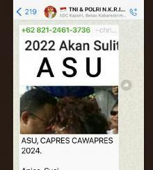 Susi Pudjiastuti Ungkap Group Whatsapp Terhormat Dijadikan untuk Sebar Fitnah