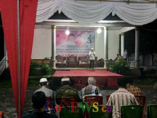 Kampanye di Bacan, Cagub Maluku Utara Abd Gani Beberkan Keberhasilan Saat Menjabat Gubernur