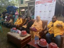 03, Angka Keramat Sosialisasi Caleg Nomor Urut 03 di Kabupaten Pangkep Sulawesi Selatan