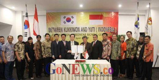 Terobosan Jitu UTI Pro Kembangkan Taekwondo
