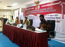 RUU Otsus, Kemendagri Serap Aspirasi Papua Barat