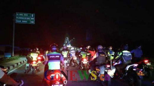 Pastikan Keamanan Jelang Lebaran, TNI/Polri dan Satpol PP Sisir Jalan Pekanbaru