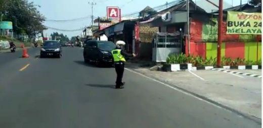 Mobil Polisi Ugal-ugalan di Puncak itu Ternyata Plat Palsu dan Dikendari Pelajar dari Tangerang