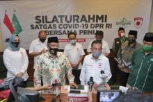 Selain Muhammadiyah, Satgas Covid-19 DPR Juga Sambangi PBNU Jelang New Normal