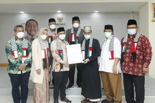 Lewat Baznas, UAH Salurkan Rp6,3 Miliar Duit Rakyat untuk Pelajar Palestina