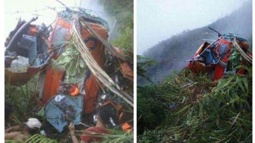 4 Orang Tewas Atas Musibah Helikopter Basarnas Jatuh di Temanggung, Korban Berhasil Dievakuasi