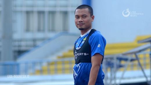 Dedi Kusnandar Siap Jalani Latihan Perdana Persib Bandung