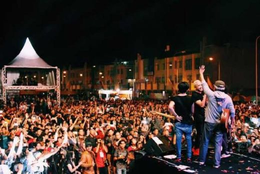 Nidji Bintang Wonderful Indonesia di George Town Fest 2016 Penang