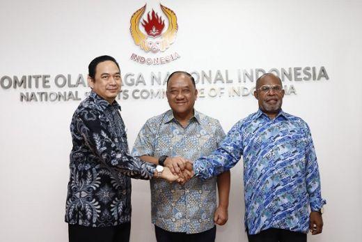 KONI Pusat Kerjasama Dengan LPDUK Soal Dana Komersial PON 2020
