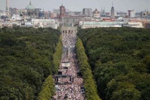 Demo terkait Covid-19 di Jerman Memakan Korban