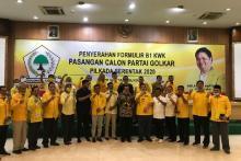 Golkar Sumatera 1 Tetapkan Cakada 53 Daerah, Idris Laena: Semua Tanpa Mahar