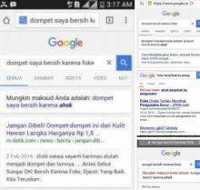Kocak! Auto Koreksi Google Foke-Ahok Jadi Bahan Olok-olok Netizen