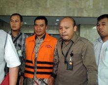 KPK Bantah Jika Terpidana Korupsi Bupati Rohul Suparman Pulang ke Riau Selasa Besok