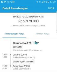 Meski KPK Membantah Pelimpahan Berkas ke Pekanbaru, Tiket Pesawat Suparman Beredar di Medsos