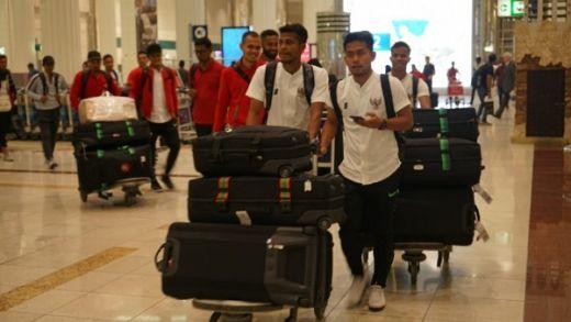 Timnas Indonesia Langsung Jalani Latihan di Dubai