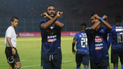 Arema FC Akui Perlawanan Sengit PSM