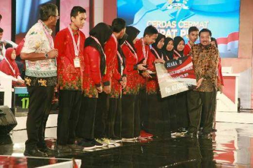 SMAN 2 Sampit: Pertama ke Jakarta Langsung Juara Kedua LCC Tingkat Nasional