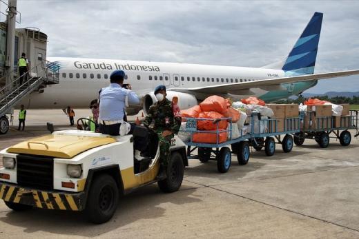 Garuda Raih Sertifikasi Good Distribution Practice Kargo Farmasi
