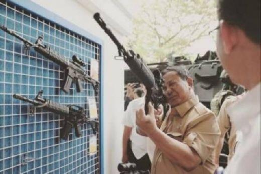 Prudent, Prabowo Tertutup soal Alusista Indonesia