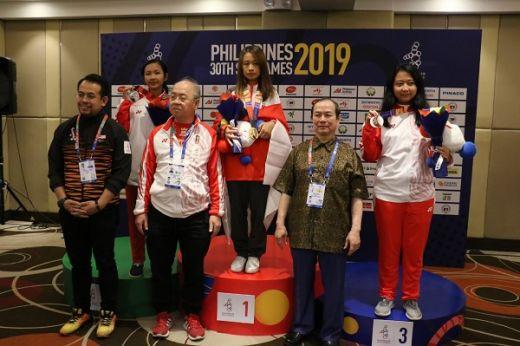 Irene Kharisma Gagal Raih Emas Kelima di Filipina