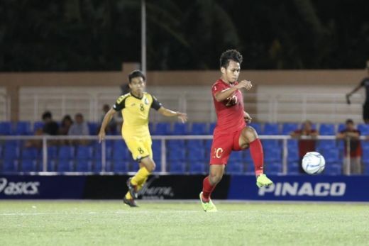 Osvaldo Hattrick, Garuda Muda Hajar Brunai 8 Gol di SEA Games Filipina
