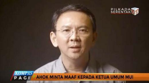 Video Maaf Ahok Dianggap Iklan Kampanye, Banser Jakarta Selatan Siagakan Anggota dan Siap Tunggu Perintah