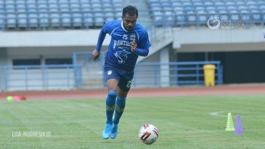 Zulham Zamrun Pertajam Lini Depan Persib Bandung