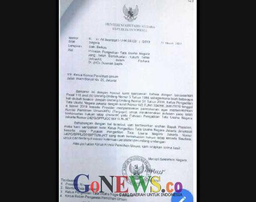 Disurati Istana soal Polemik Pencalegan OSO, KPU Kukuh pada Putusan MK