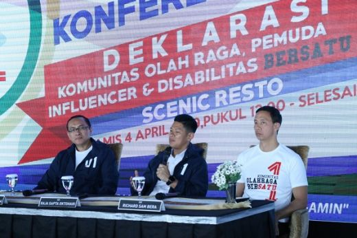 Komunitas Olahraga Akan Deklarasi Dukung Jokowi-Maruf Amin