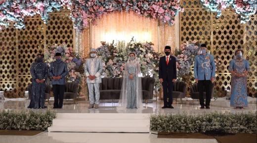 Sebelum ke Pernikahan Atta Aurel, Presiden Jokowi Jadi Saksi Nikah Puteri Idris Laena