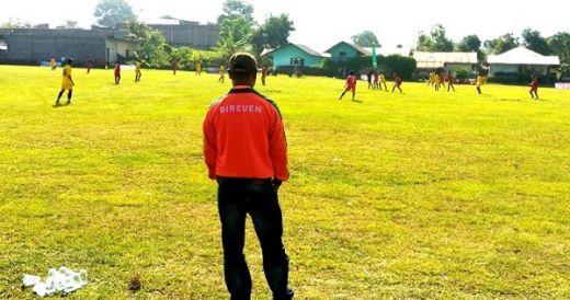 Popda XV 2018, Tim Sepakbola Bireuen Berbagi Poin dengan Aceh Utara
