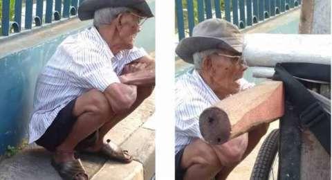 Ya Allah....Tak Punya Uang, Kakek Penjual Abu Gosok Ini Sahur dan Buka Puasa Pakai Air Putih