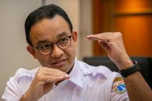 Sedang Berlangsung, Gubernur Anies Umumkan Kelanjutan status PSBB di DKI Jakarta
