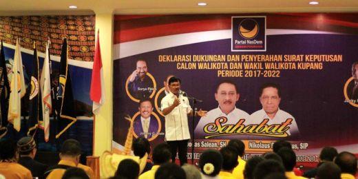 Jika PAN Ingin Gabung Koalisi Jokowi, Ada Dua Syarat Ini Kata Nasdem