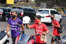 Pemain Bali United FC Antusias Latihan di Tengah Pandemi Covid 19