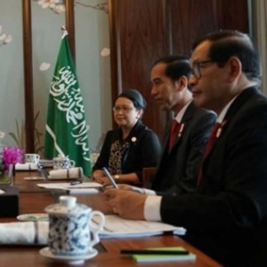 Ketemu Presiden Jokowi, Putra Mahkota Arab Saudi Tawarkan Mega Investment di Indonesia