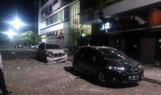Ledakan Keras di RS Siloam Makassar Berasal dari Genset di Lantai 9 dan Mengenai Mobil