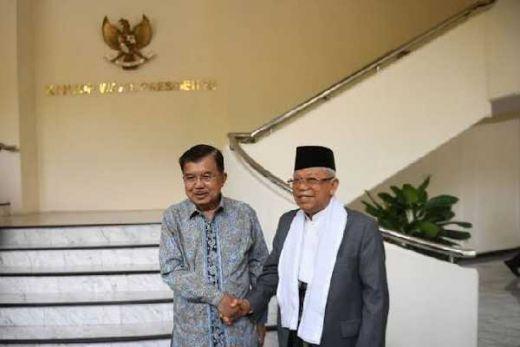 Perkenalkan Istana Wapres, JK Jelaskan Tugas Wapres pada Maruf Amin