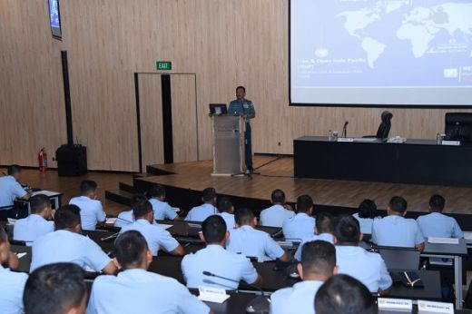 Kasal: Pembinaan Kekuatan Dan Kemampuan TNI AL Dalam Menghadapi Ancaman Laut