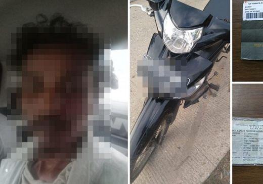 Tim Resmob Polresta Tangerang Ciduk Pelaku Pencuri Sepeda Motor di Mauk