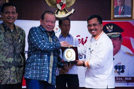 Tak Bisa Pungut Jasa Labuh Kapal, Pemprov Kepri Adukan Menhub ke DPD RI