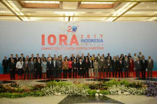 Resmi Dibuka, Konferensi Tingkat Tinggi Indian Ocean Rim Association (IORA Summit) 2017 di Jakarta