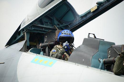 Kasal Terbang Dengan Sukhoi 30 MK2 Flanker TNI AU
