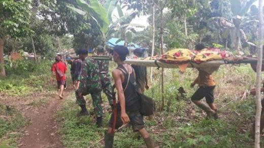 Evakuasi Longsor Tambang Ilegal, 1 Orang Diselamatkan, 4 Orang Tewas