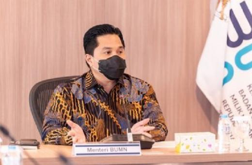 Erick Thohir Pastikan 7 BUMN Dibubarkan Tahun Ini, Apa Saja?