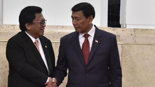 Bertemu OSO di Hari Lebaran, Wiranto: Waktunya Bermaaf-maafan