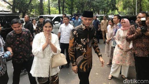 Usai Sowan ke Jokowi, AHY dan Ibas Silaturahmi ke Kediaman Megawati