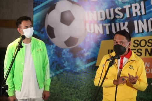 Raffi Ahmad: Keberadaan Inpres Nomor 3 Permudah Pola Pembinaan Atlet Sepakbola Usia Dini